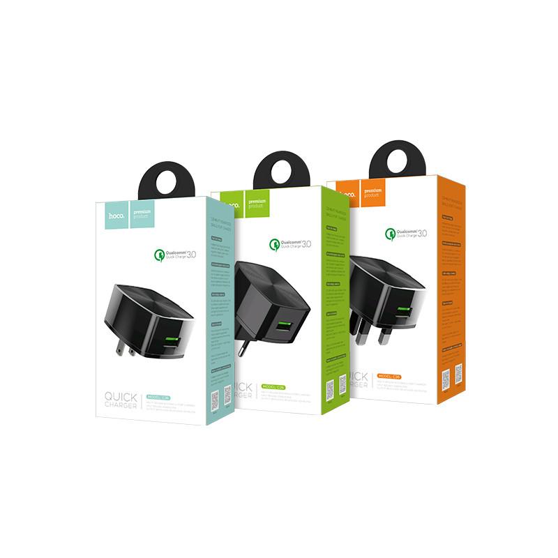 Hoco C26 Mighty power QC3.0 single-port charger,(EU)