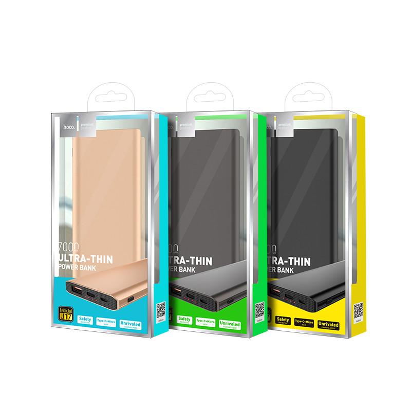 Hoco J17 Clear power mobile power bank(7000mAh)