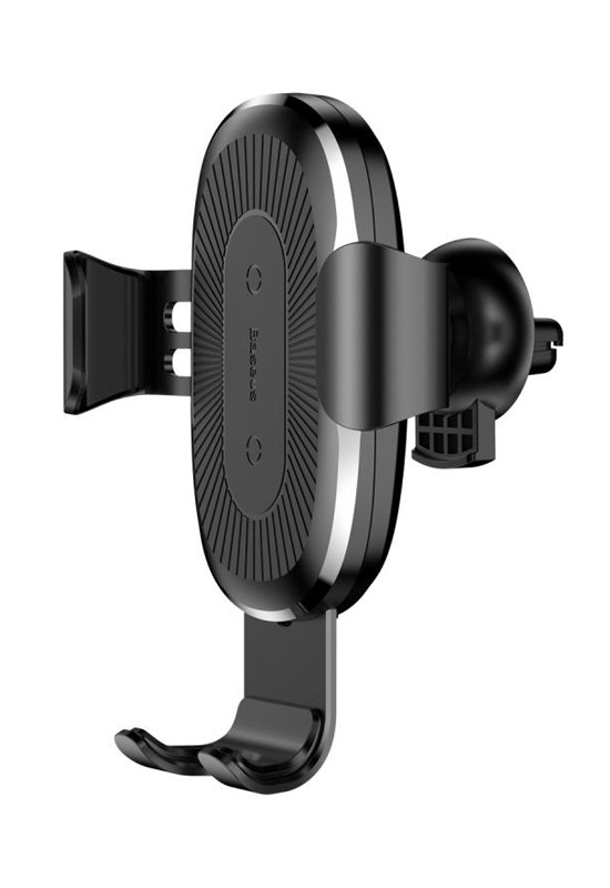 Baseus Heukji Wireless Charger Gravity Car Mount Black