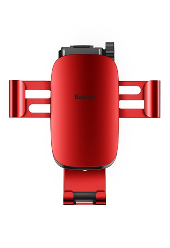 Baseus Metal Age Gravity CarMount(Air Outlet Version)Red