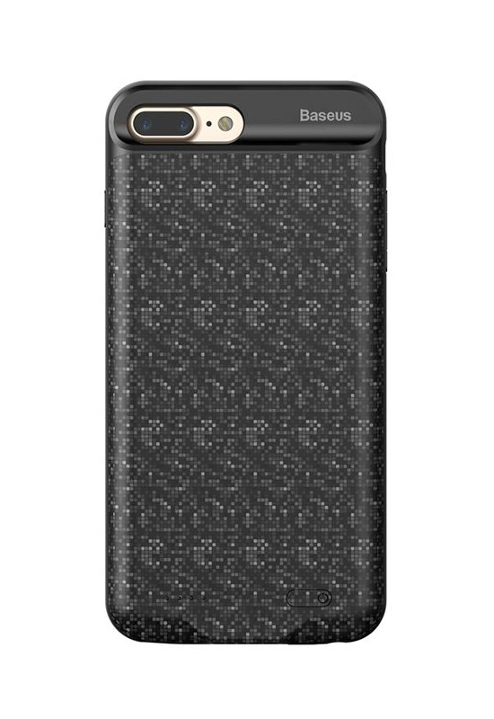 Baseus Plaid Backpack Power Bank Case 2500MAH For iPhone7/iPhone8 Black