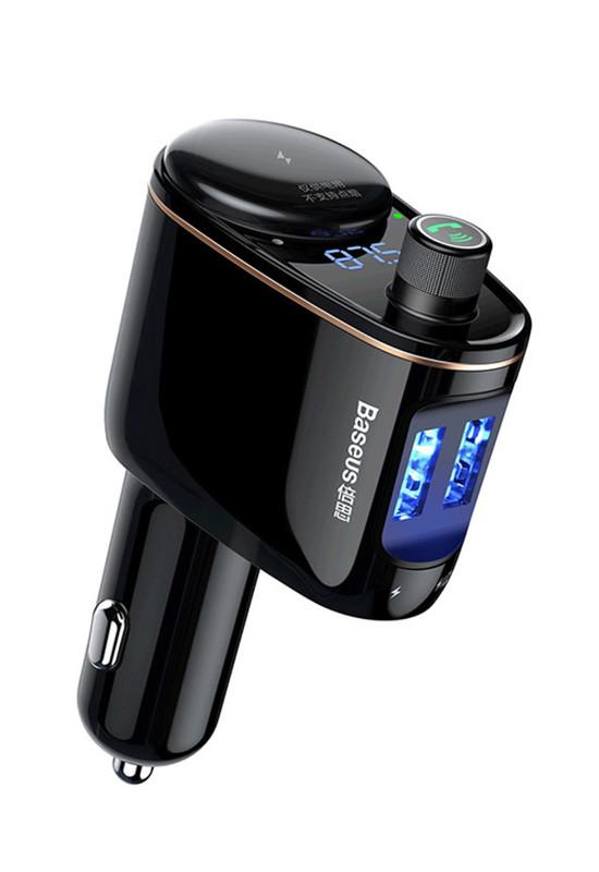 Baseus Locomotive Bluetooth MP3 Vehicle Charger Black